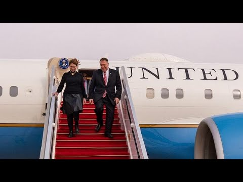 U.S. secretary of state in Senegal, first stop of 3-nation African tour
