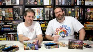 Unboxing of Tiny Epic Defenders by Gamelyn Games
