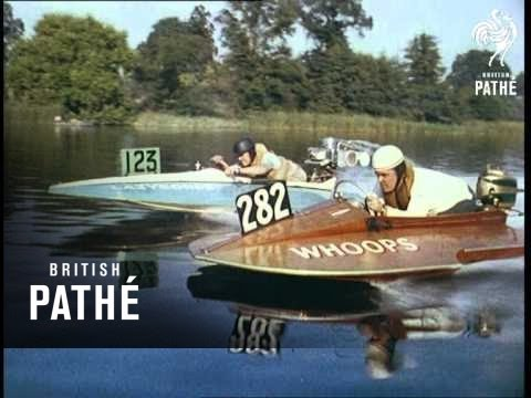 Hydroplane Racing Also In Cp 001 Int'l (1955) - YouTube