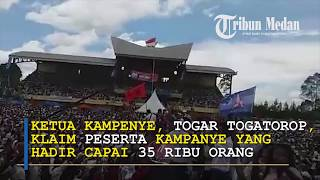 Kampanye Akbar Eddy-Jimmy Dihadiri 35 Ribu Massa di Stadion Baru Panji Bako