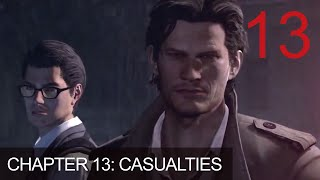 The Evil Within Chapter 13 Casualties Walkthrough Gameplay