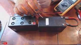 Как восстановить аккумулятор от ИБП UPS APC(АлиЭкспресс - http://bit.ly/AliExpressimm Чаще всего аккумуляторы в ИБП (бесперебойнике) выходят из строя от того что..., 2013-08-04T09:13:42.000Z)