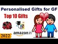 Top 10 Personalised Gifts For Girlfriend in India (2019) || Custom Gifts for Girlfriend