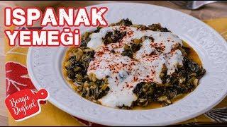 Pirinçli Ispanak Yemeği Nasıl Yapılır? Kolay Sebze Yemeği Tarifi (Yemek Tarifleri)