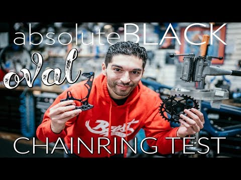 DO OVAL CHAINRINGS WORK? ABSOLUTE BLACK OVAL CHAIN RING | DO OVAL CHAINRINGS HELP WITH CLIMBING? MTB