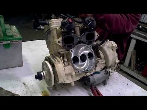 LOT 2455D 1996 SEADOO XP 787 800 Engine Compression Test