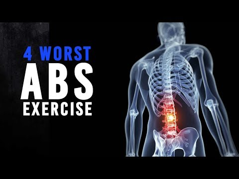 Dont do this Abs Exercise  Worst Abs Exercise which can cause back pain ! 🙏
