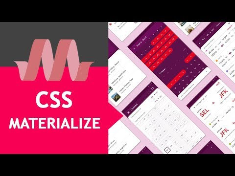 VENTANA MODAL o POP UP con Materialize CSS [#12 Tutorial Español] thumbnail