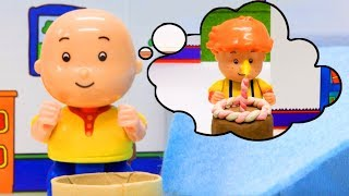 Funny Animated cartoons Kids | BIRTHDAY CAKE | WATCH ONLINE | Caillou Stop Motion #Caillou #Cartoon