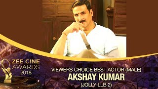 Akshay Kumar | Viewers Choice Best Actor Male | Zee Cine Awards 2018