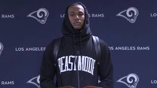 Marcus Peters on Aaron Donald