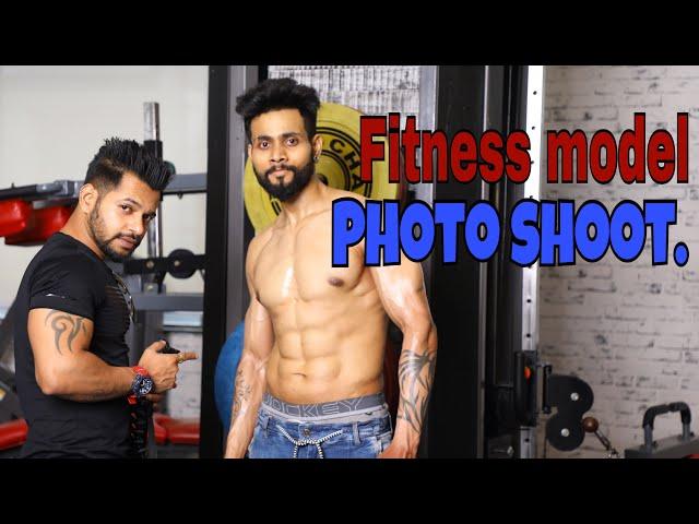 Fitness model photo shoot-Behind the scenes | 100% natural athlete | HINDI | NAGPUR