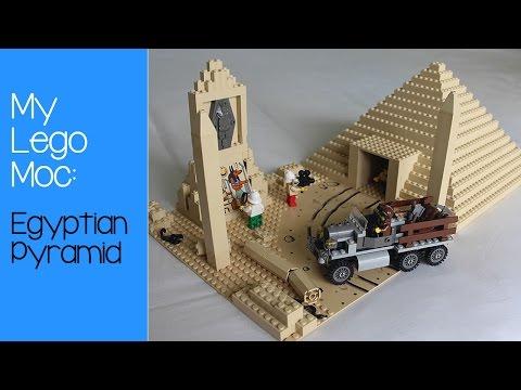 Lego Moc: Egyptian Pyramid
