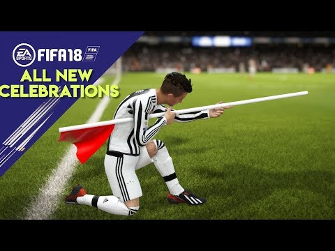FIFA 18 ALL NEW CELEBRATIONS TUTORIAL | Xbox and Playstation