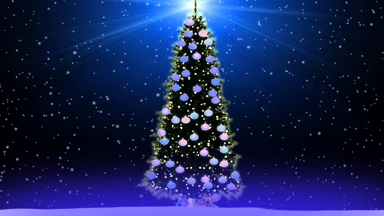 Santa Claus And Christmas Tree Pictures