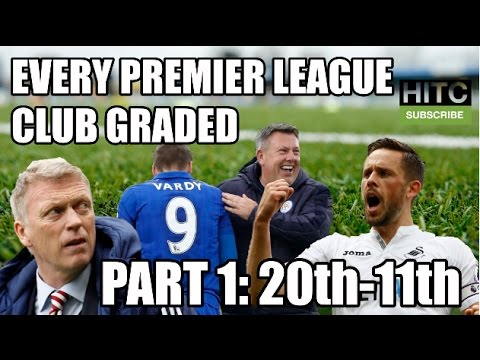 EVERY Premier League Club Graded (Part One: 20th-11th)