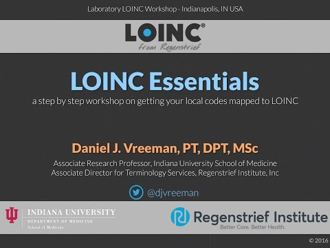 LOINC Tutorial 2016-06-08: