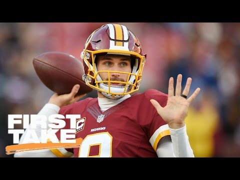 Should Kirk Cousins Sign An Extension With The Redskins? | First Take | March 31, 2017