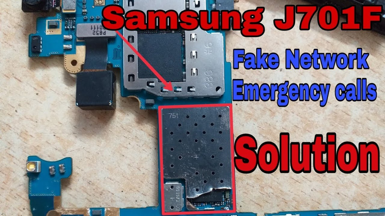 Samsung J701f Fake Network ( Emergency Call only ) Solution - Thủ