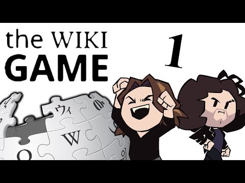 The Wiki Game: Writing System! - PART 1 - Game Grumps
