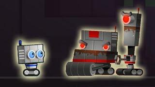 - Атака злых роботов. Приключение Робота Робби в мультике игре Robbie