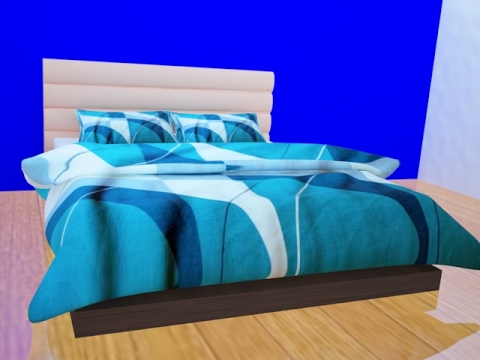 Bed Modeling with Pillow and blanket in 3Ds Max | Part 4 | 3Ds Max Tutorial | DigitalKnowledge