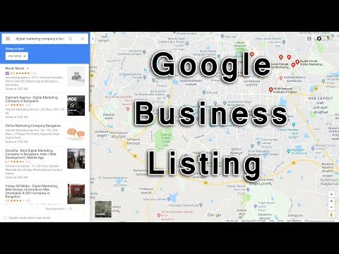 How To Add Business On Google Map | Google Business Listing 2018 | Local SEO