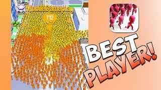 WORLD'S BEST CROWD CITY PLAYER? (CROWD CITY HIGHSCORE GAMEPLAY!) screenshot 3