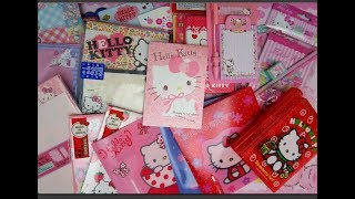 A Drawer full of Hello Kitty Stationary!!