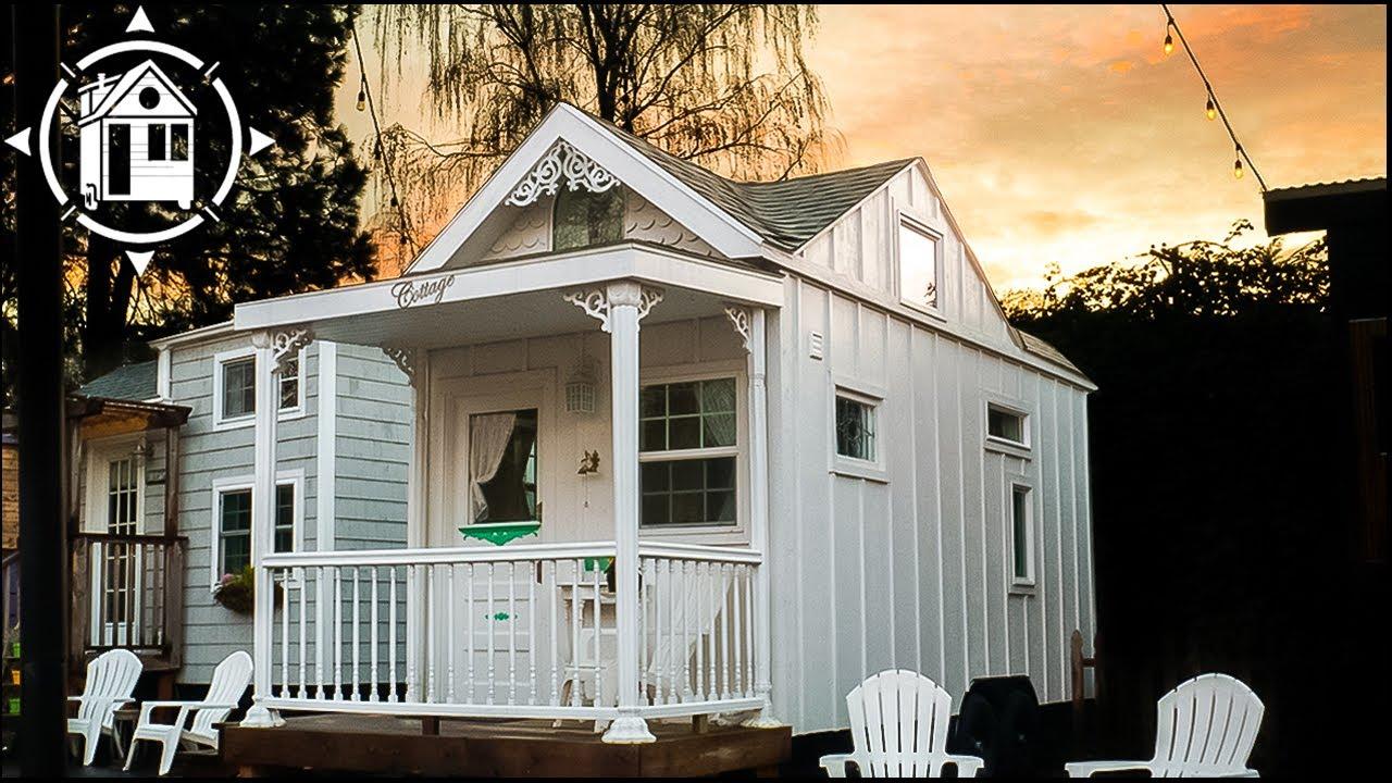 Romantic Victorian Tiny House At Portland Tiny House Hotel