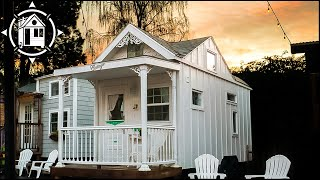 Romantic Victorian TINY HOUSE at Portland Tiny House Hotel