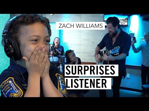 Zach Williams Surprises A Very Special KSBJ Listener - AND SINGS WITH HER!