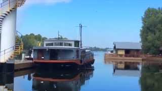 Плавдом Houseboat. Cамоходная баржа, self-propelled barge. cмотреть видео онлайн бесплатно в высоком качестве - HDVIDEO