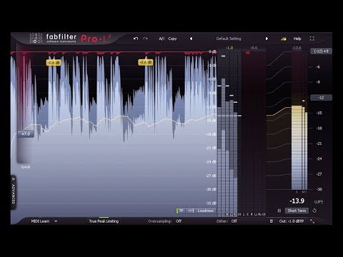 Introduction to FabFilter Pro-L 2