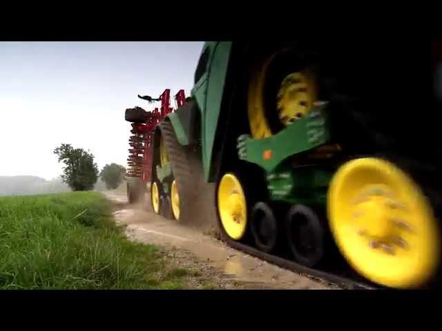 Tracteur John Deere Série 9RX – Parfait en toutes conditions