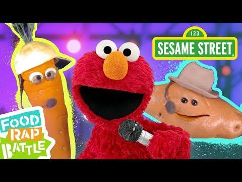Sesame Street: Carrot vs. Sweet Potato feat. Daveed Diggs & Rafael Casal   Elmo's Food Rap Battle