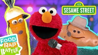 Sesame Street: Carrot vs. Sweet Potato feat. Daveed Diggs & Rafael Casal | Elmo's Food Rap Battle