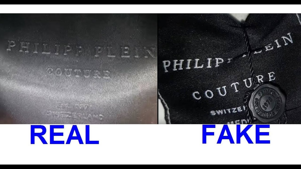 c298d4071f Philipp Plein T-shirt Real vs Fake. How to spot fake Philipp Plein ...