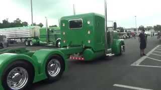 Custom Peterbilt At Wildwood Truck Show 2015