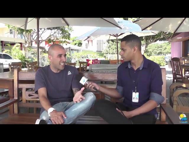 Jonathan Marques em entrevista com Tolentino Reis.
