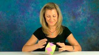 Оригами из бумаги | Как сделать КУБИК с сюрпризом