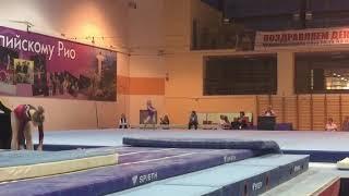 Глотова Алена - вольные упражнения - Многоборье   Glotova Alena - FX