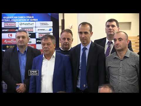 01 10 Fudbal   FSS podela opreme   Surbatovic,Toncev,Bunjevcevic