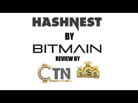 HashNest Bitcoin Cloud Mining By Bitmain Review By CryptoTalk.News