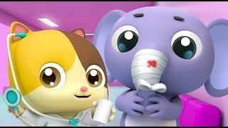 Bác sĩ mèo con Mimi   Hoạt hình mèo con   Hoạt hình thiếu nhi Việt Nam   BabyBus