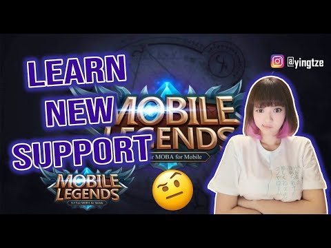 LEARN NEW SUPPORT HERO    MOBILE LEGENDS