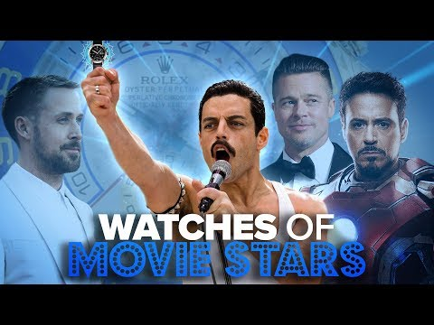 Watches Of Famous Movie Stars & Actors (Brad Pitt, Robert Downey Jr., Tom Cruise & More)