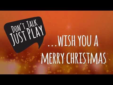 Kling Glöckchen Kling Weihnachtslied Auf Der Gitarre Spielen