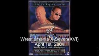 March to Mania: Wrestlemania X-Seven Review