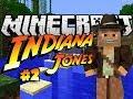 Stealing The Ark! - Minecraft Indiana Jones & The Herobrine Staff #2 - Custom Map